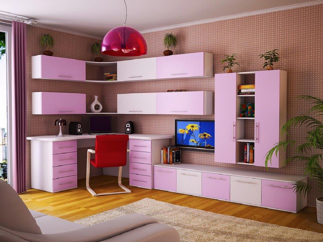 Что должно быть в детской комнате - Много Мебели