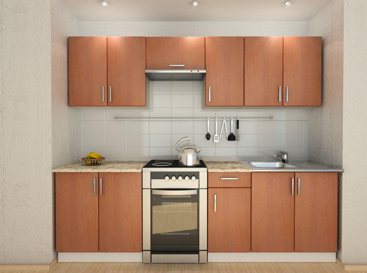Кухни эконом-класса - особенности недорогой мебели изоражения